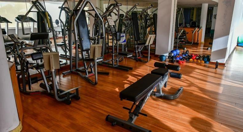 E Hotel - gym